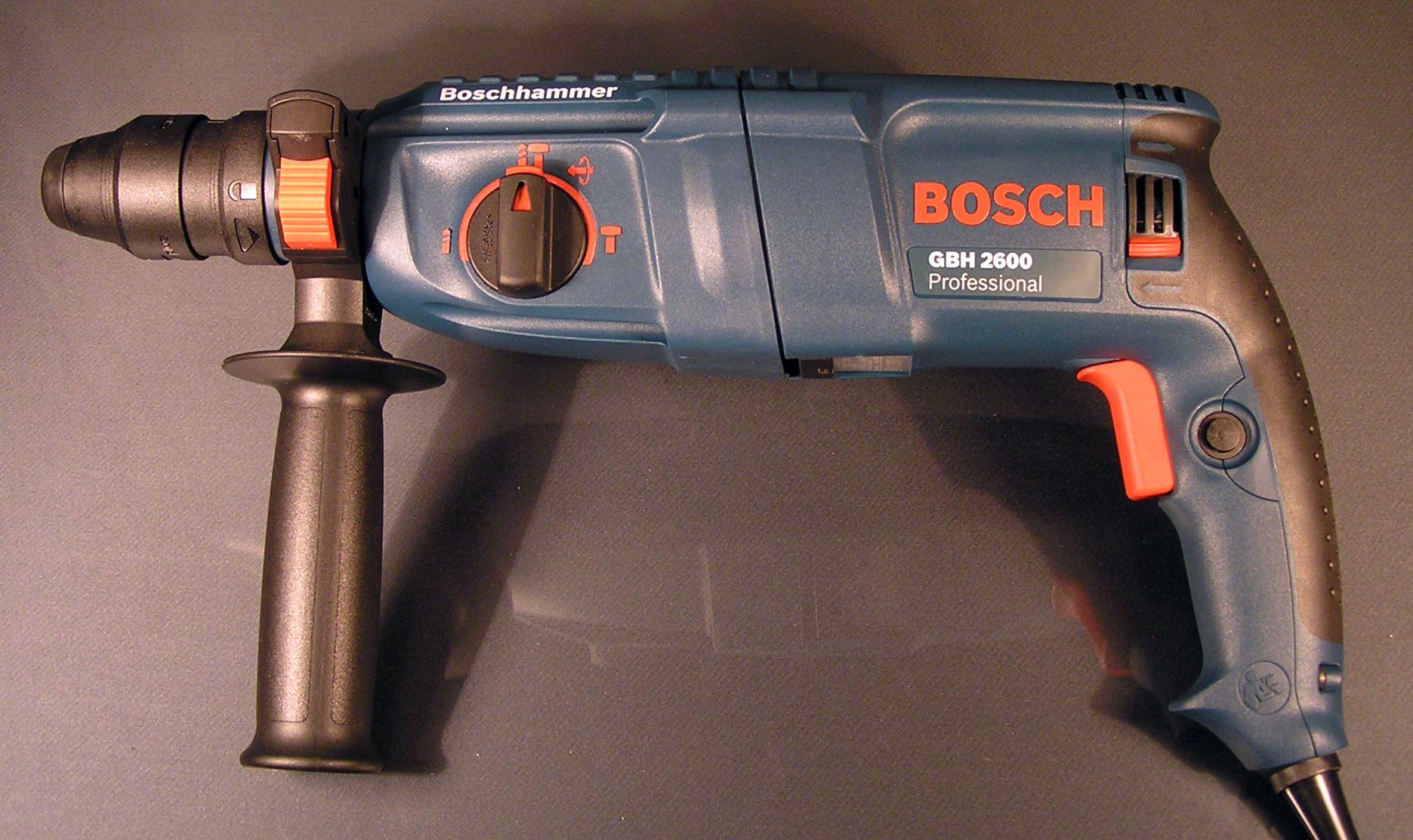 bosch gbh 2600 professional bohrhammer sds plus set 8 teiliges zubeh r ovp neu. Black Bedroom Furniture Sets. Home Design Ideas
