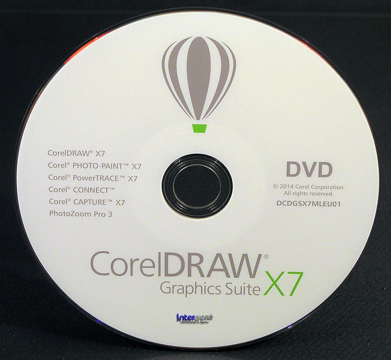 how to install corel draw x7