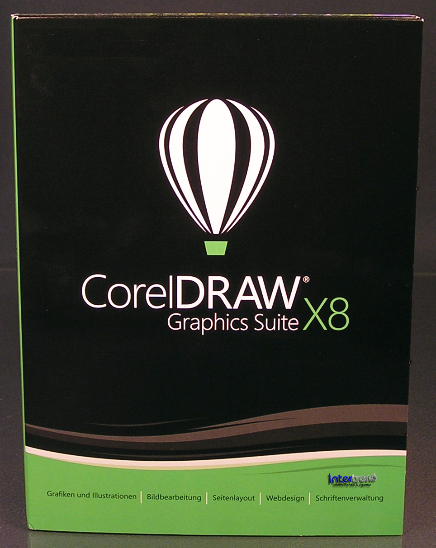 Corel Draw Graphics Suite X8 Vollversion Box + CD, Cliparts VBA