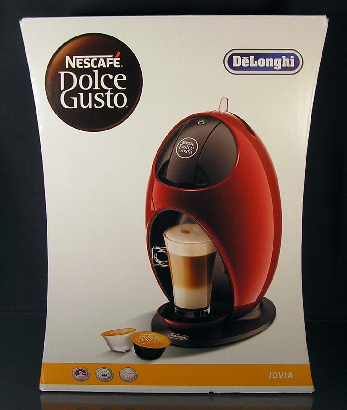 delonghi jovia rot edg 250 r nescaf dolce gusto kaffee. Black Bedroom Furniture Sets. Home Design Ideas