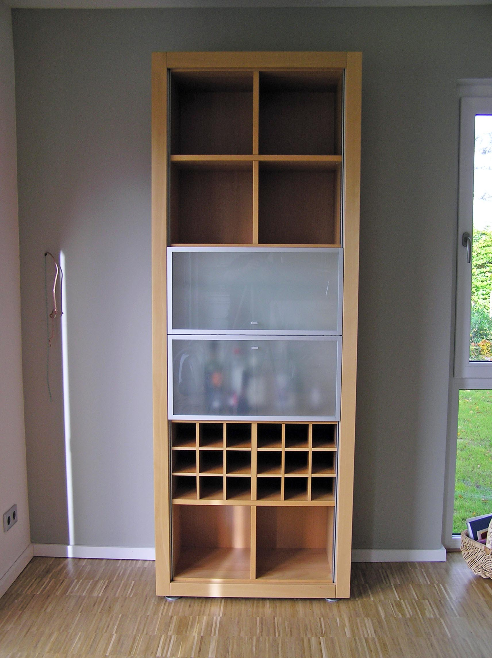 h lsta xelo buche schrank vitrine barschrank 225x83 hh ebay. Black Bedroom Furniture Sets. Home Design Ideas