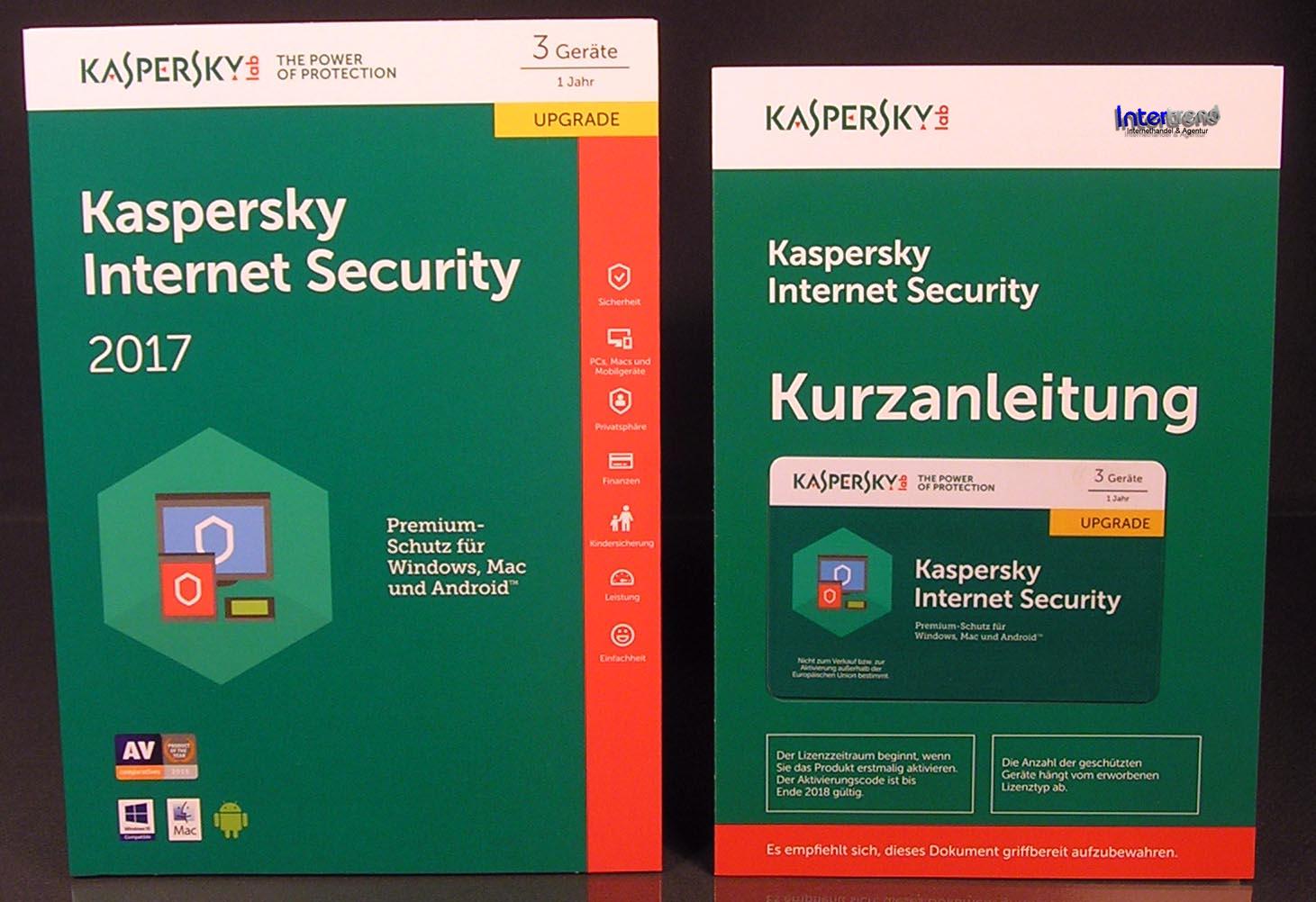 Kaspersky internet security 2017 upgrade 3 pc box - Er finestra android ...
