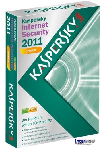 kaspersky internet security 2011 upgrade 3 pc 1 jahr ebay. Black Bedroom Furniture Sets. Home Design Ideas