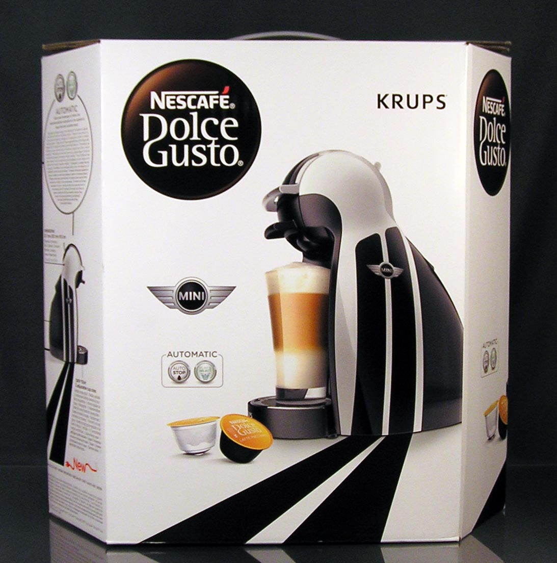 krups genio 2 mini bmw limited edition kp161m nescaf dolce gusto kaffeemaschine ebay. Black Bedroom Furniture Sets. Home Design Ideas