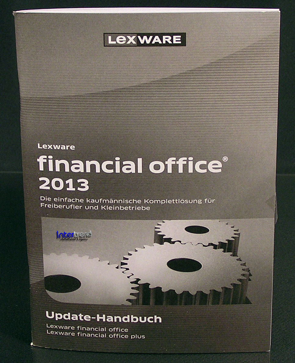 lexware financial office plus 2013 update 17 0 box cd handbuch ovp neu ebay. Black Bedroom Furniture Sets. Home Design Ideas