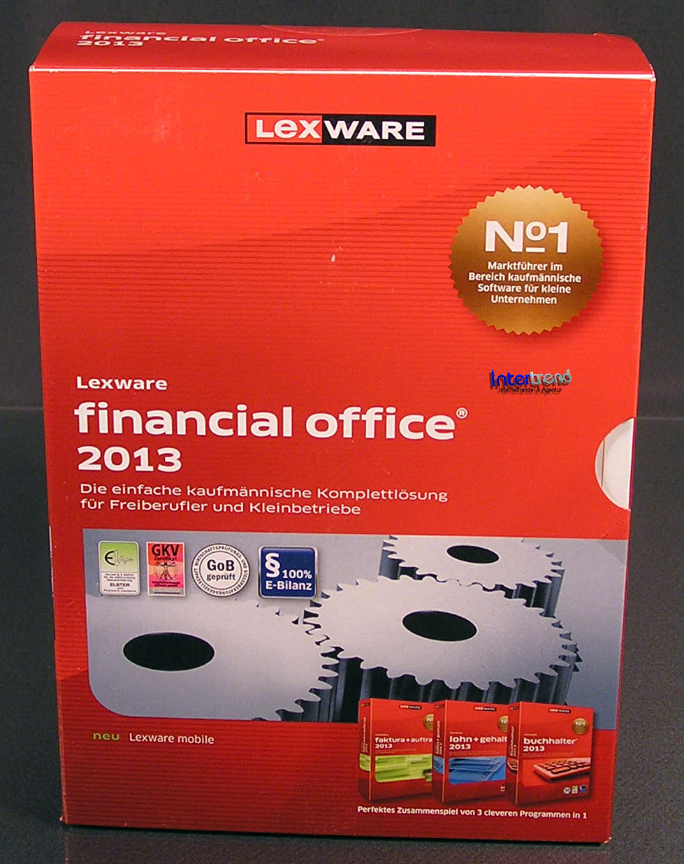 lexware financial office 2013 vollversion box 17 0 cd handbuch ovp neu ebay. Black Bedroom Furniture Sets. Home Design Ideas