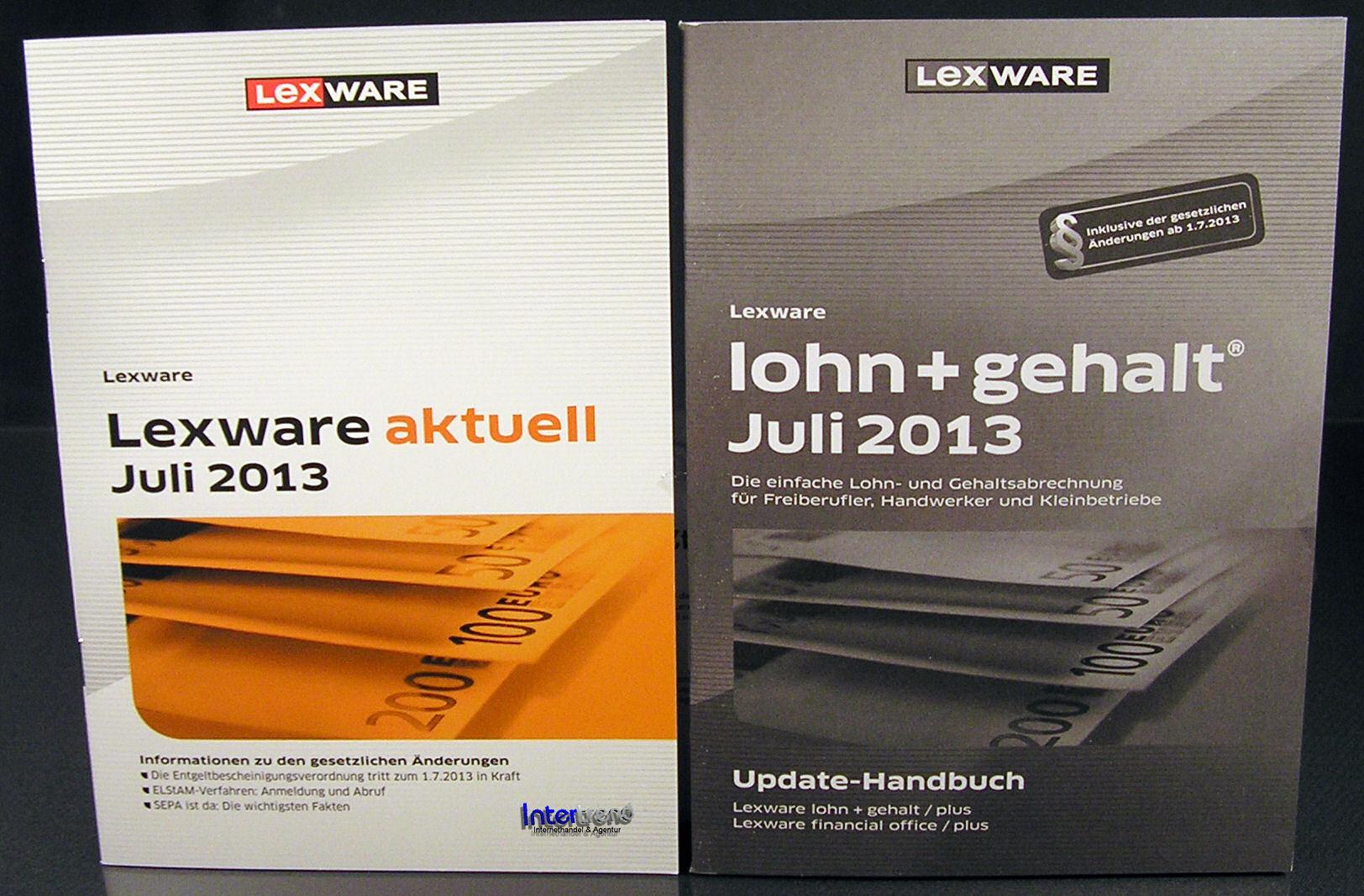 lexware lohn gehalt juli 2013 zusatzupdate 17 5 update. Black Bedroom Furniture Sets. Home Design Ideas