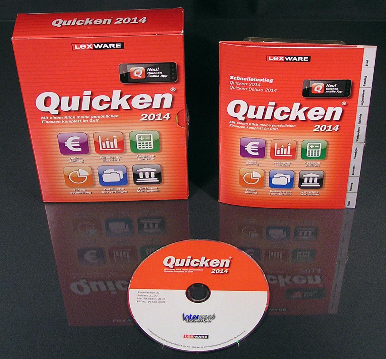 Lexware Quicken 2014 Vollversion Box (21.0) CD