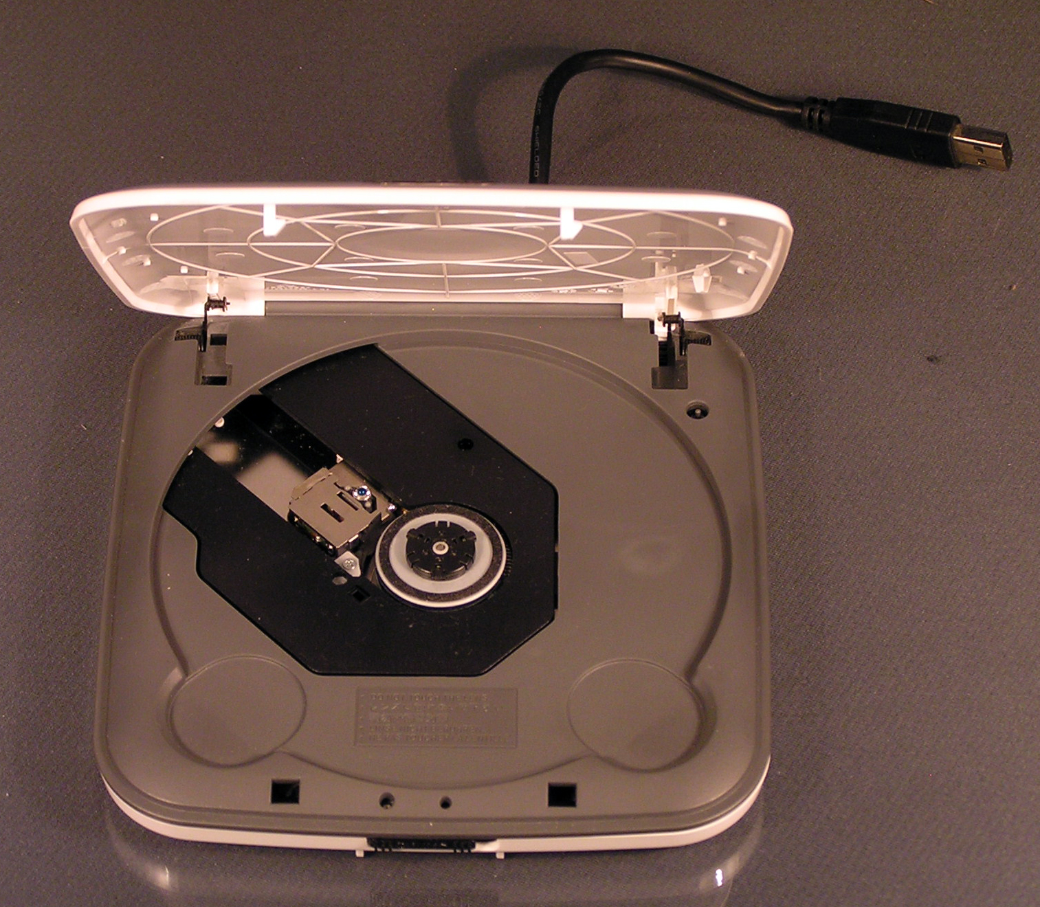 lite on etdu108 externes dvd cd rom laufwerk wei plug an. Black Bedroom Furniture Sets. Home Design Ideas