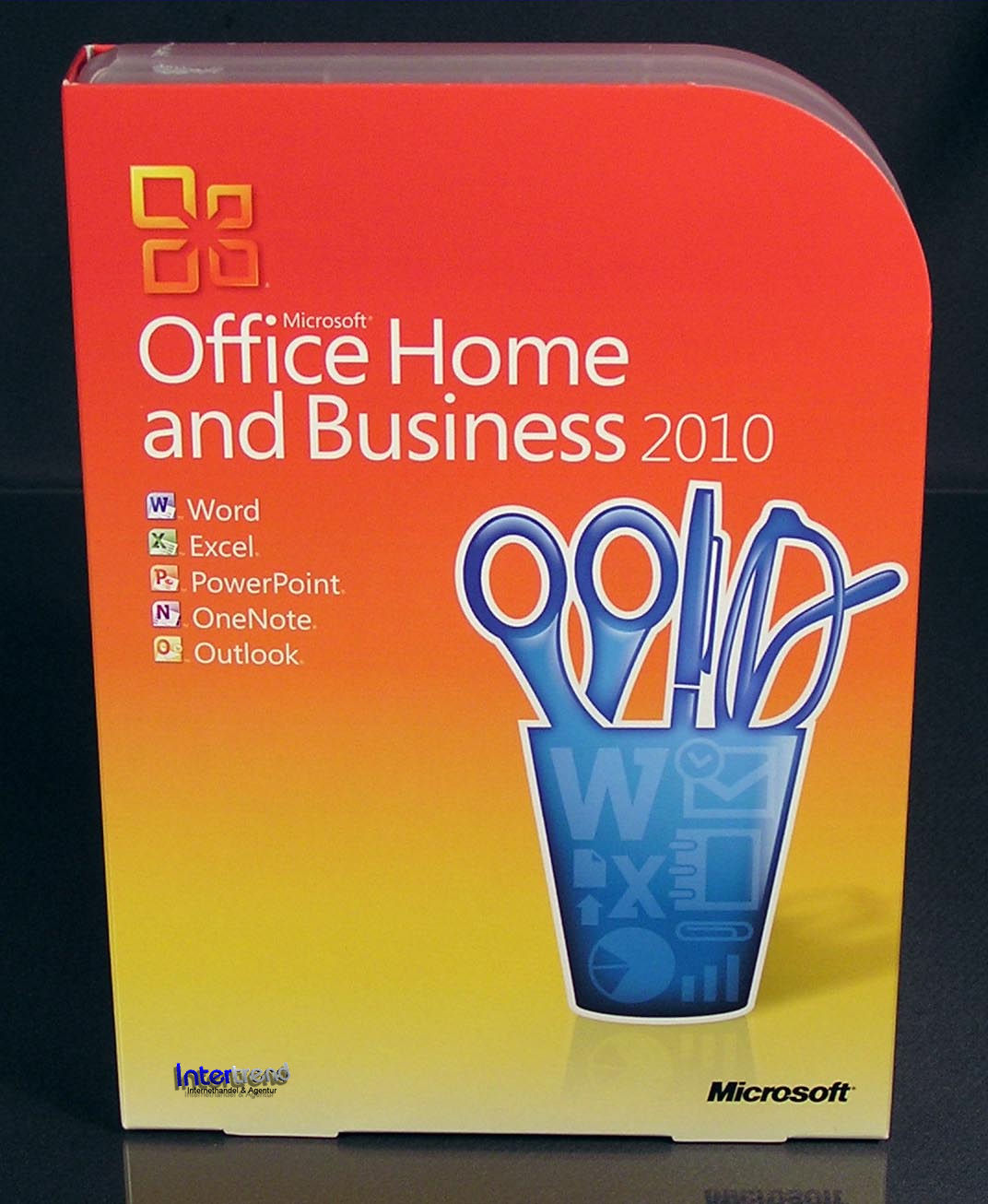 Microsoft office home and business 2010 vollversion box - Windows office home and business ...