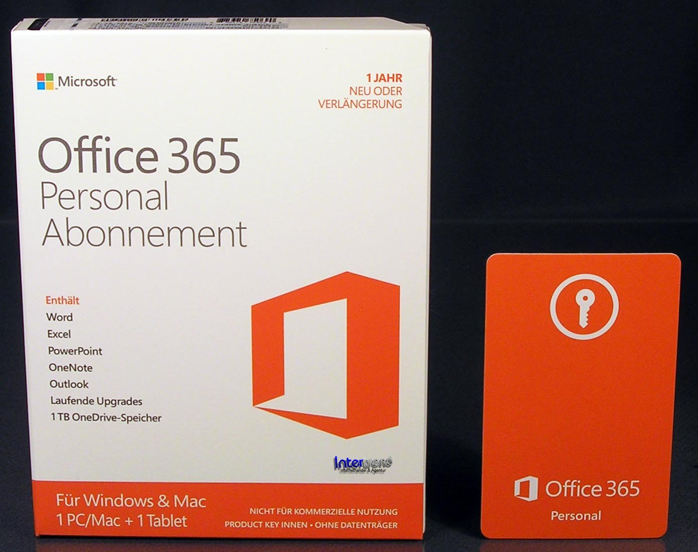 microsoft office 365 personal 2016 vollversion box 1 pc mac 1 tablet abo 885370750690 ebay. Black Bedroom Furniture Sets. Home Design Ideas
