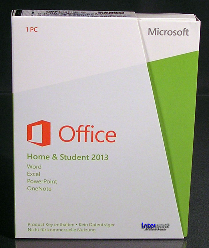 microsoft office home student 2013 vollversion box 32 64 bit de ovp neu ebay. Black Bedroom Furniture Sets. Home Design Ideas