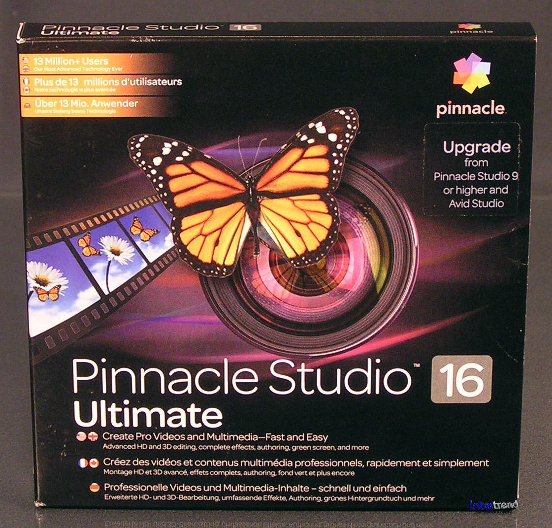 B pinnacle studio 16 ultimate/b pinnacle/b studio/b ultimate/b ist da