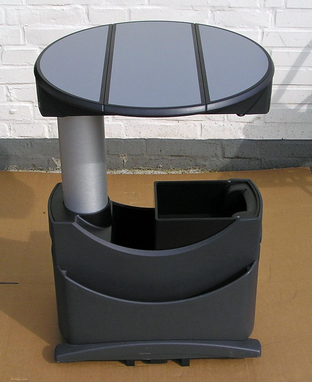 vw t5 tisch multifunktionstisch f schienensystem hellgrau. Black Bedroom Furniture Sets. Home Design Ideas