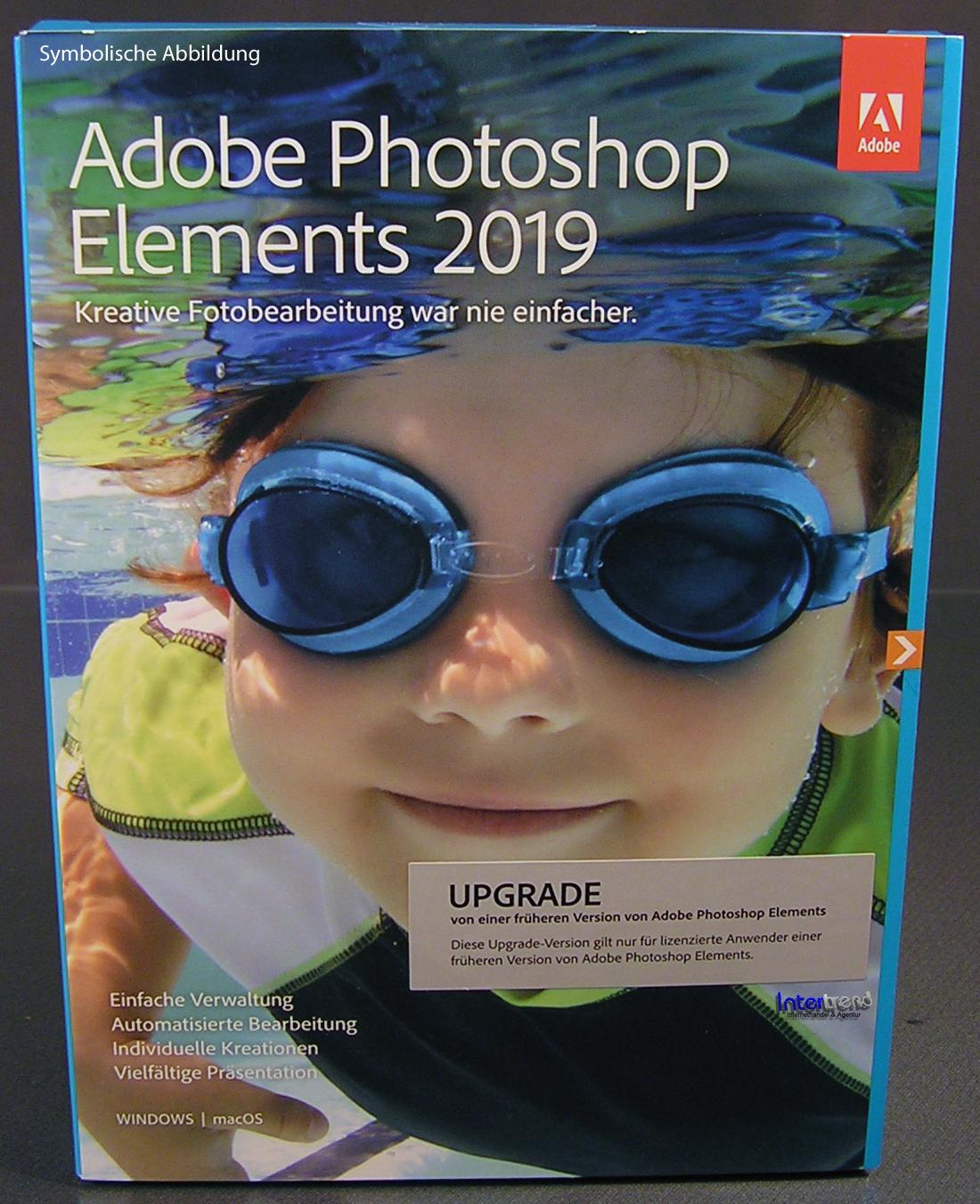 Adobe Photoshop Elements 2019 Upgrade Winmac