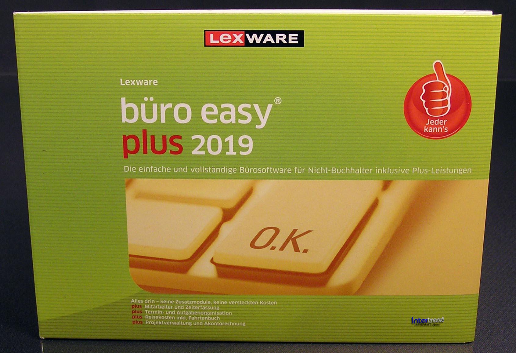 lexware b ro easy plus 2019 vollversion box cd handbuch. Black Bedroom Furniture Sets. Home Design Ideas