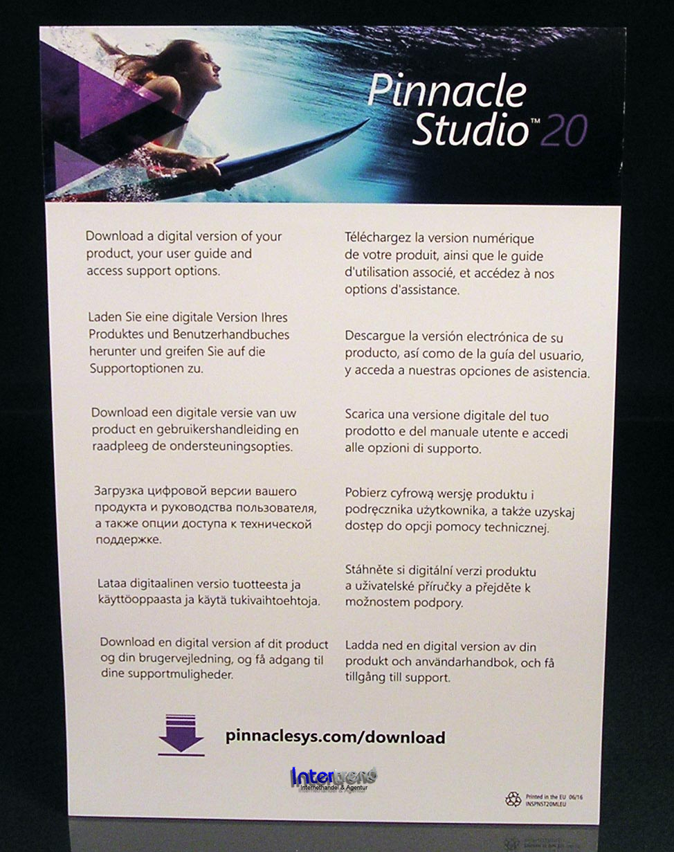 pinnacle studio 21.5 ultimate - phy